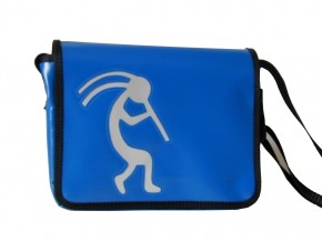 Messenger-Bag mit Motiv Kokopelli 3