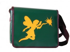 Messenger-Bag mit Motiv Fee